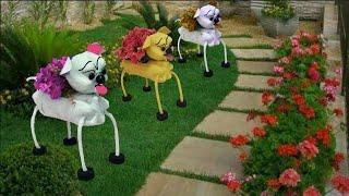 Cachorrinho De Garrafa Pet Para Jardins