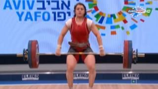 ЧЕ 2014 по Тяжелой Атлетике Тель-Авив женщины до 69кг