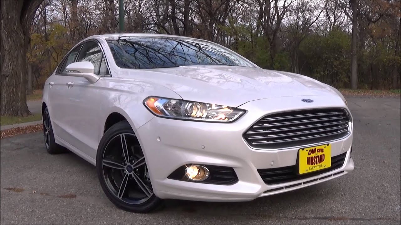 2016 Ford Fusion Anium W Terracota Package Review