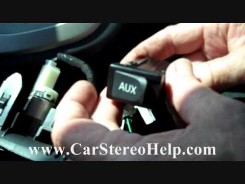 how to toyota matrix aux jack repair 2009 2013 replace. Black Bedroom Furniture Sets. Home Design Ideas