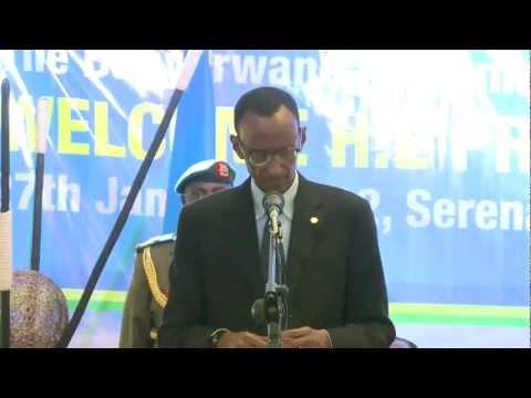 President Kagame addresses Rwandans living in Uganda- Kampala, 27 january 2012, Part 2/2