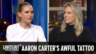 Aaron Carter's Face Tattoos & Miley Cyrus's Ungrateful Mom - Lights Out with David Spade