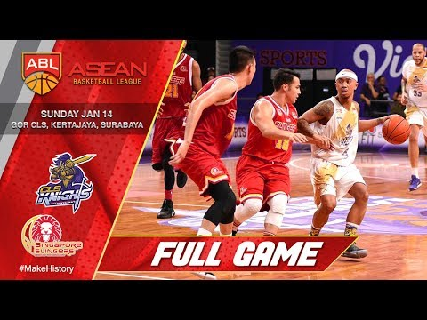 CLS Knights Indonesia vs. Singapore Slingers   LIVESTREAM   2017-2018 ASEAN Basketball League