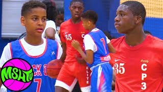 #1 6TH GRADER vs CARMELO ANTHONY'S SON at the 2019 Balling on the Beach