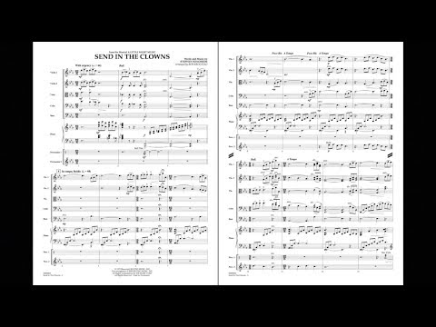 Send in the Clowns by Stephen Sondheim/arr. Bob Krogstad
