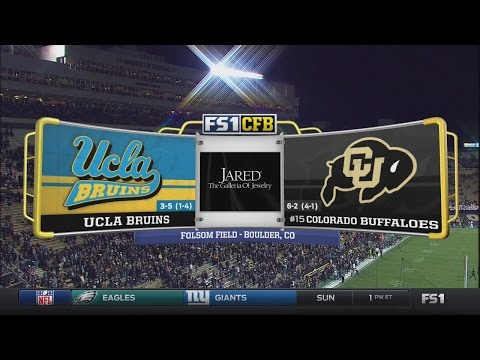 NCAAF 2016 / Week 10 / 03.11.2016 / UCLA Bruins @ (15) Colorado Buffaloes / 720pier