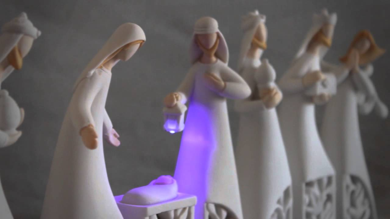 Bele n moderno noche iluminada de youtube - Belen moderno ...