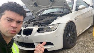 I found my stolen BMW M3 in an auction junkyard..