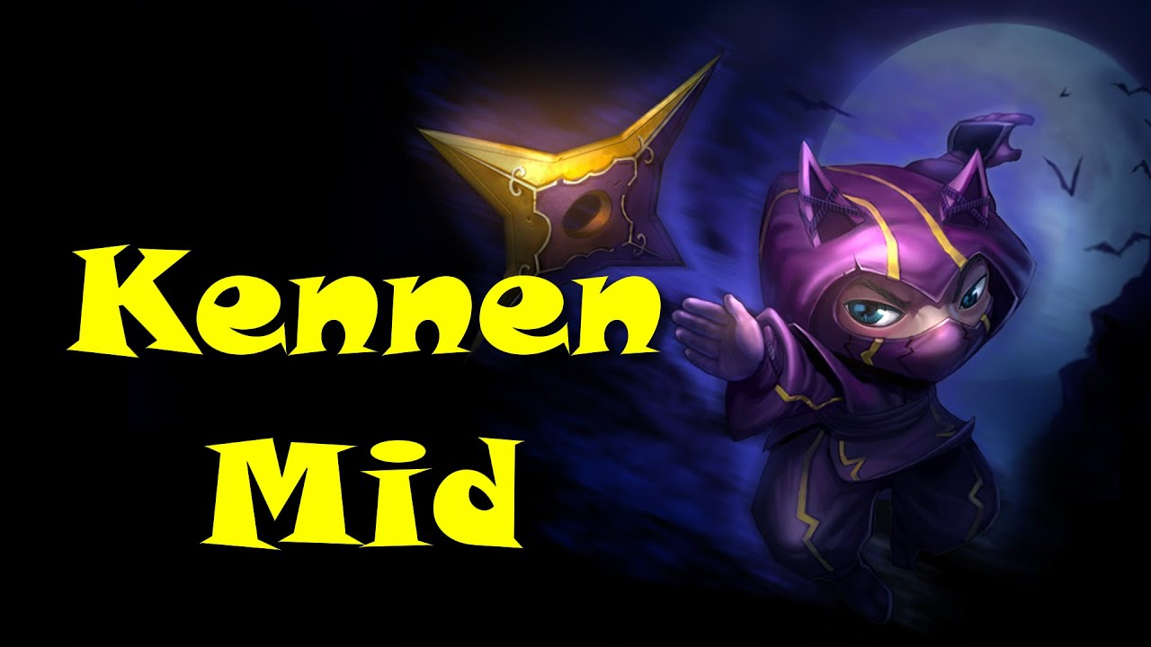 Kennen Mid league of legends kennen mid commentary