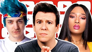 "WOW! George Zimmerman Sues Buttigieg & Warren $265M, Ninja's ""Weak Mindset"", Megan Thee Stallion, &"