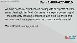 Crime Scene Cleanup in Jacksonville,FL