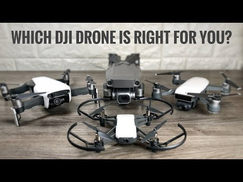 Which DJI Drone is Best For You? | DJI Drone Buyers Guide