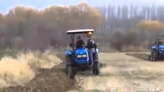 Demonstration Of Sonalika Tractor In Turkey
