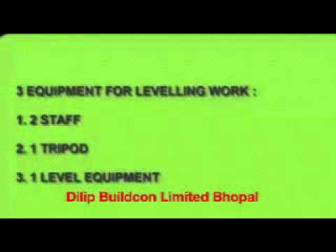 Auto Level Practice In Hindi How To Set Auto Level Height Of Instrument Method (SurveyinG)