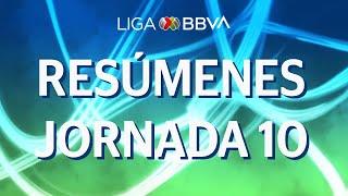 super resumen jornada 10 apertura 2019 liga bbva mx