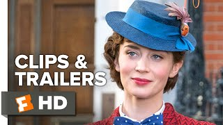 Mary Poppins Returns ALL Clips + Trailers   Fandango Family