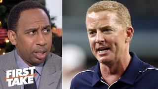 Stephen A. doesn't want to hear Jason Garrett's excuses for benching Amari Cooper | First Take