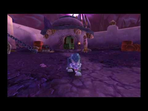 New Alliance Druid models (3.2 PTR)