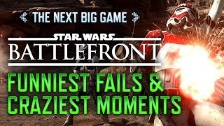 Funniest Fails and Craziest Moments in Star Wars Battlefront