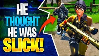 Baixar HE THOUGHT HE WAS SLICK! (Fortnite Battle Royale)