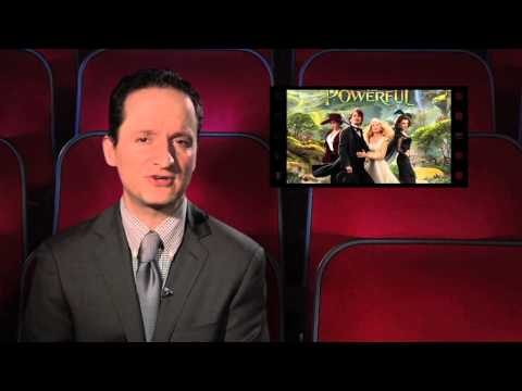 REEL FAITH 60 Second Review of OZ THE GREAT AND POWERFUL (David's Take)