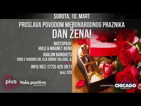 Plus Radio - Vaša pozitiva! :: Hule & Magnet Band :: Dan Žena :: ELK GROVE VILLAGE :: NAJAVA