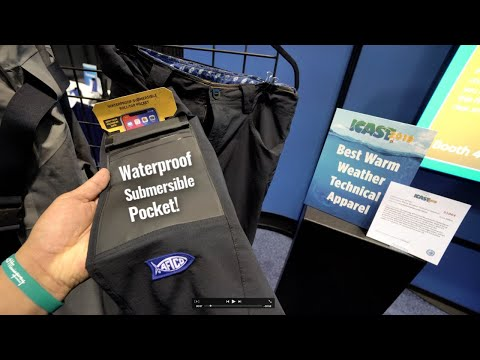 AFTCO Overboard Shorts - Waterproof Submersible Pocket