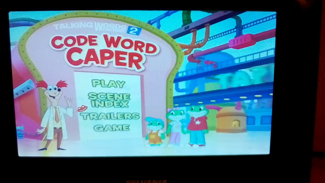 Factory Word Caper 2 Leapfrog Code Words Vhs Talking