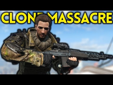 Fallout 4  CLONE MASSACRE  Tales from the Commonwealth Part 5