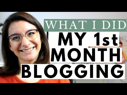 What I Did My 1st Month Blogging: Tips for New Bloggers