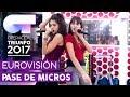 LO MALO - Ana Guerra y Aitana | Primer pase de micros para la GALA EUROVISIÓN | OT 2017