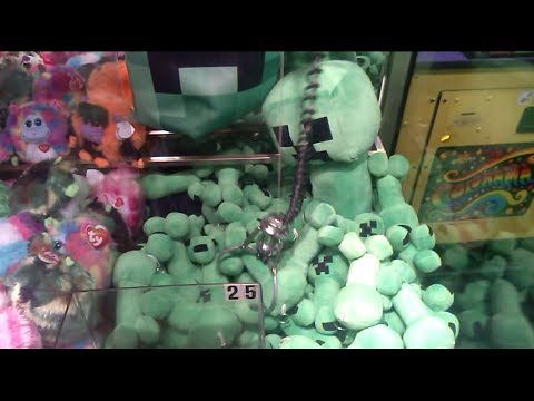 minecraft claw machine