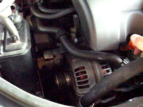 Mk5 GTI my08 engine whistle noise video 2