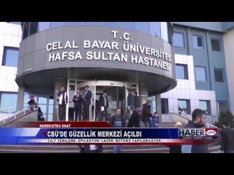 CBÜ Hafsa Sultan Hastanesi Kozmetoloji Merkezi Açıldı