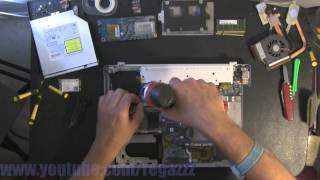 SONY VGN-CR220E take apart, disassembly, how-to video (nothing left) HD