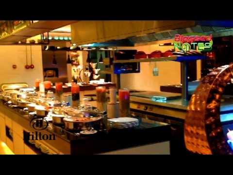 Hilton Hotel dining area review - Zhoushan