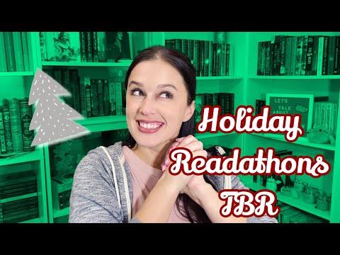 Holiday Readathons TBR || Tis The Season-A-Thon & Reindeerathon
