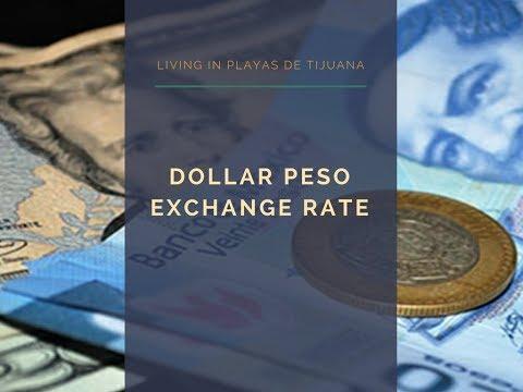 Dollar Peso Exchange Rate