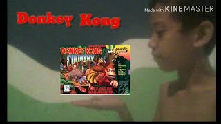 Jogando Donkey Kong Country no SNES STATION(emulador de Super Nintendo para Ps2)