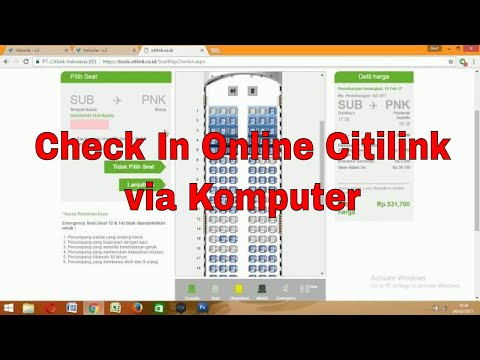 Online Check In Citilink