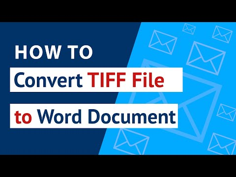 How To Convert TIFF To Word ? | Migrate / Transfer TIFF To Word With TIFF File Converter