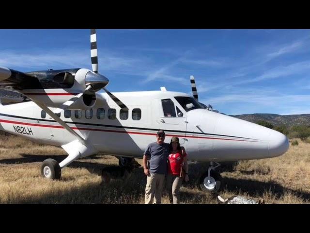 De Havilland DHC-6 at Double Circle Ranch Arizona