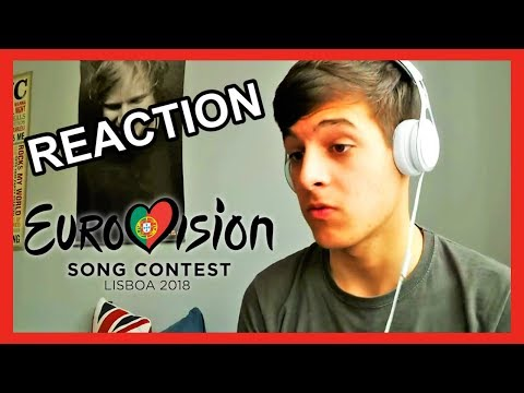 Eurovision 2018 REACTION TO ALL THE 43 SONGS [By Alex]