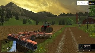Farm Sim Saturday creating a new field and planting a crop