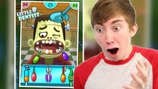 LITTLE DENTIST - KIDS GAMES (iPhone Gameplay Video)(Lonnie plays Little Dentist - kids games - Part 1 (iPhone Gameplay Video) This is part 1 of my video game commentary playthrough / walkthrough series of