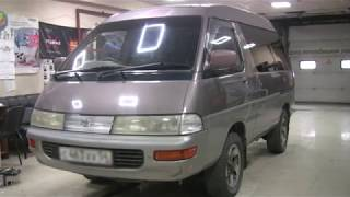 Toyota Town Ace YR30. Ремонт. Замена верхних рычагов.