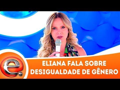 Eliana faz desabafo no Dia Internacional da Mulher