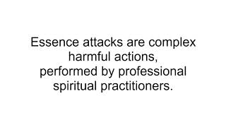 Cleansing and protection from energetic harm - spells
