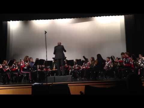 Cahaba Dances--2014 Shelby County (AL) High School Honor Band