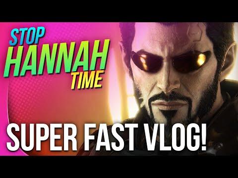 Stop: Hannah Time! - Super Fast Vlog!
